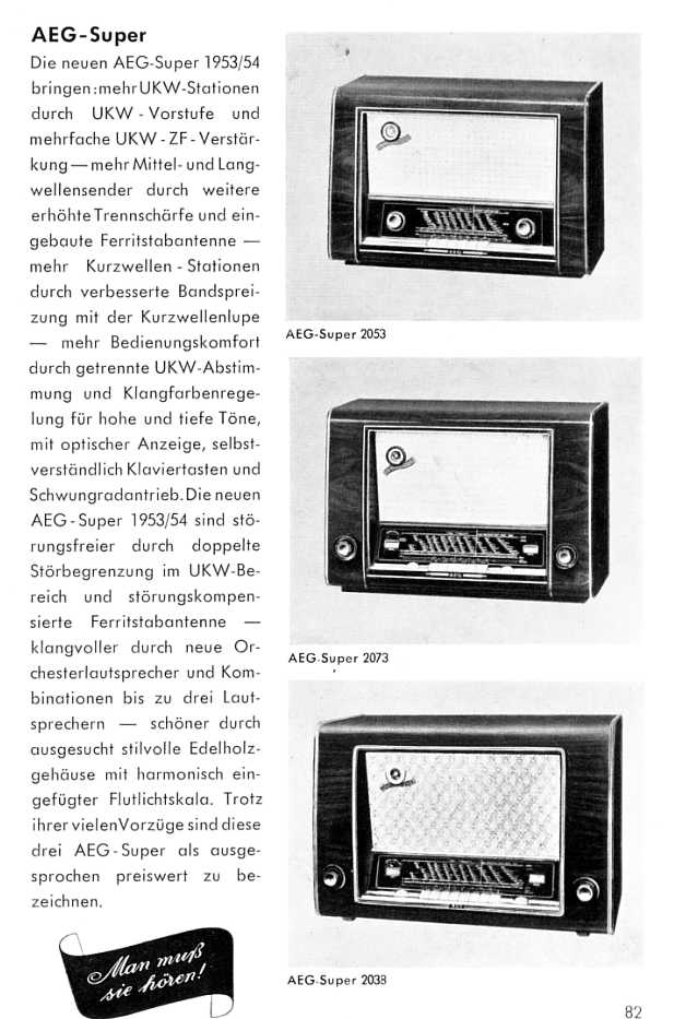 aeg katalog von 1953 haushaltsger te teil 4. Black Bedroom Furniture Sets. Home Design Ideas
