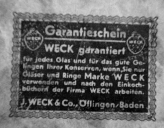 Entsafter Weck = Weck  Produkte