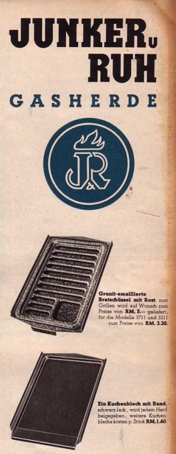 Junker und Ruh Karlsruhe GasherdeProspekt wwweichwaelderde -> Nähmaschine Junker Und Ruh