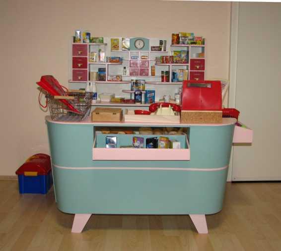 da macht das einkaufen wieder richtig spass kinderkaufladen 50er. Black Bedroom Furniture Sets. Home Design Ideas