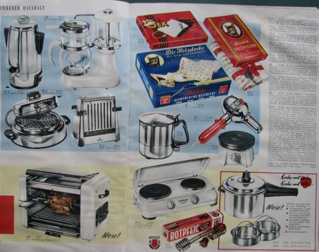 versandhaus klingel katalog 1959 teil 2. Black Bedroom Furniture Sets. Home Design Ideas