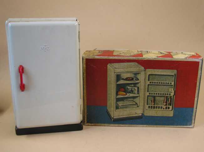 Kühlschrank Beleuchtung : Blechspielzeug kühlschrank martin fuchs zirndorf er