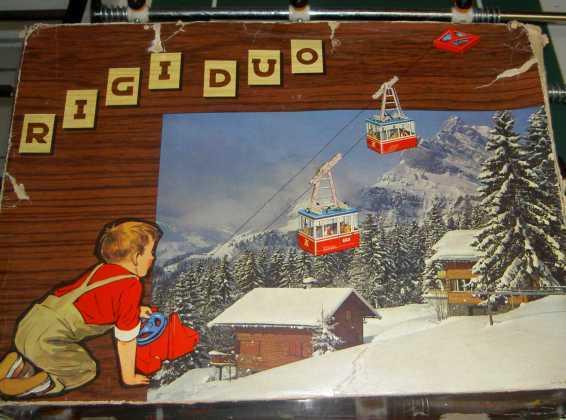 Altes Spielzeug Rigi Seilbahn Elektrische Talstation Lehmann Www