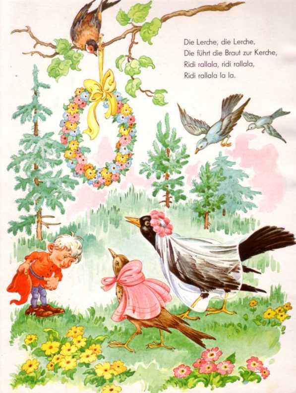 Vogelhochzeit Liedtext