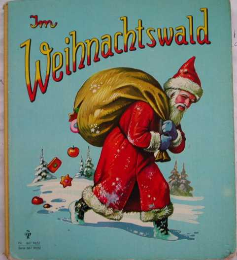 Рождество на немецком открытки