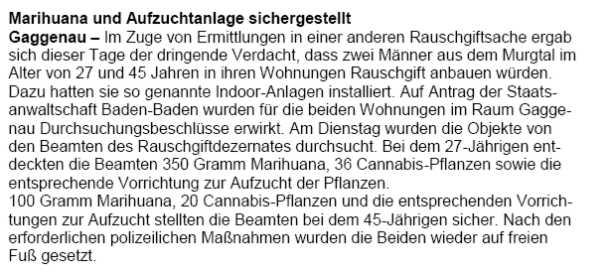 schnelltest drogen polizei