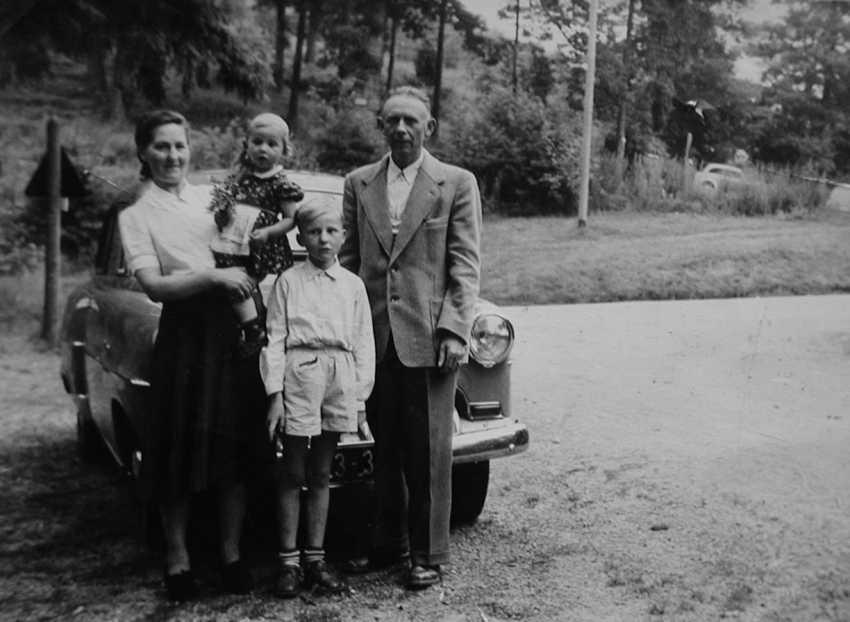 Eichwälder Früher Familie Tschaikowski