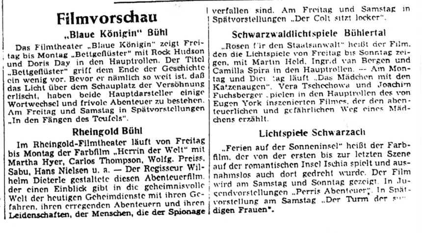 Polizeibericht Bühlertal